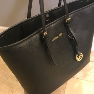 Authentic Michael Kors Black Bucket